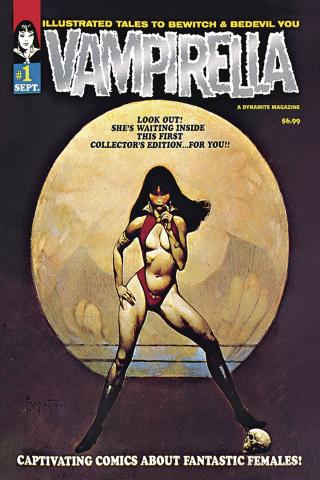 Vampirella #1 (1969 Replica Platinum Foil Cover)