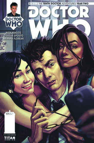 Doctor Who: New Adventures with the Tenth Doctor, Year Two #17 (Ianniciello Cover)