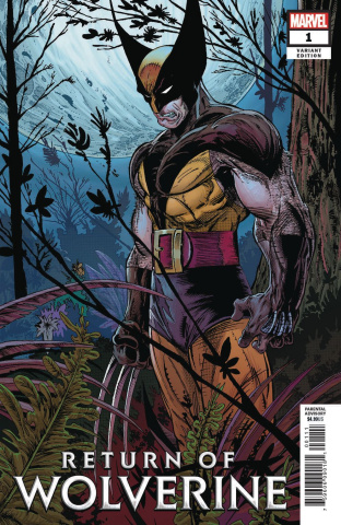 Return of Wolverine #1 (McFarlane Remastered Cover)