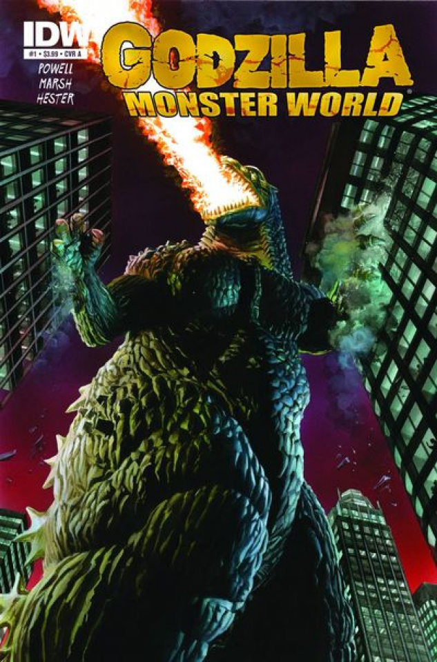 Godzilla: Monster World #1