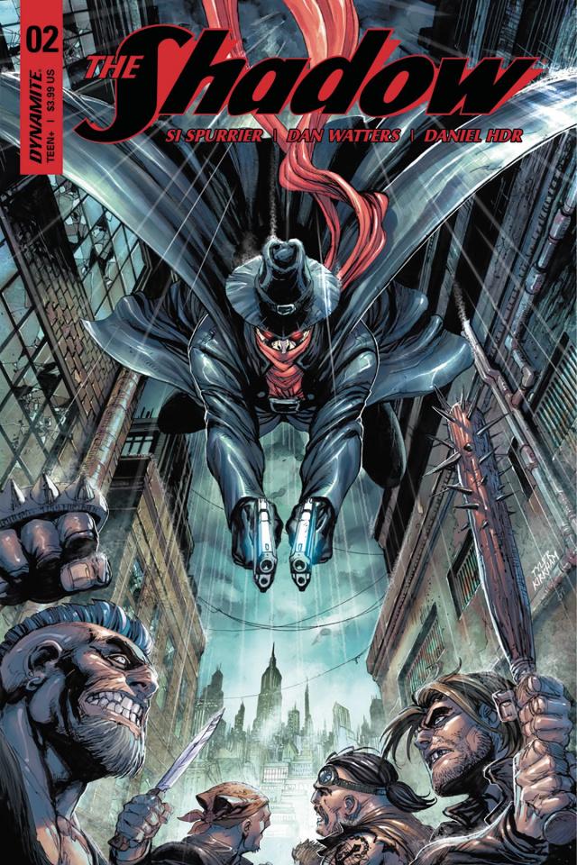 The Shadow #2 (Kirkham Cover)