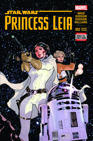 Princess Leia #3 (Dodson 2nd Printing)