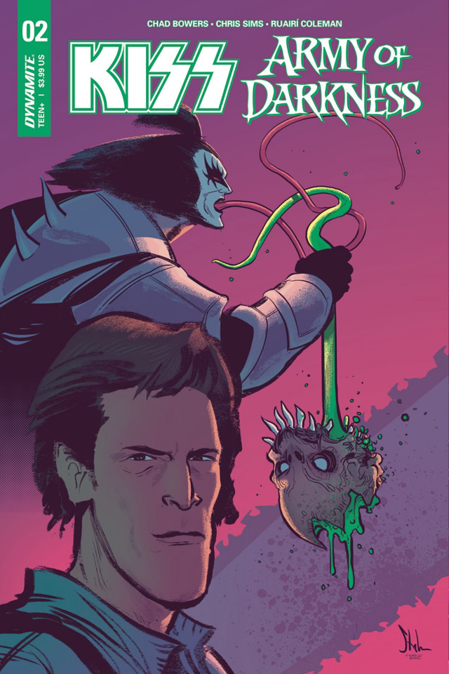 KISS / Army of Darkness #2 (Strahm Cover)