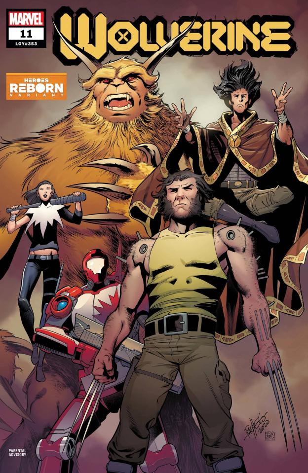 Wolverine #11 (Pacheco Reborn Cover)
