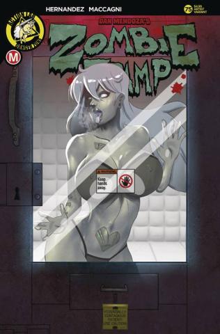 Zombie Tramp #75 (Mastajwood Cover)