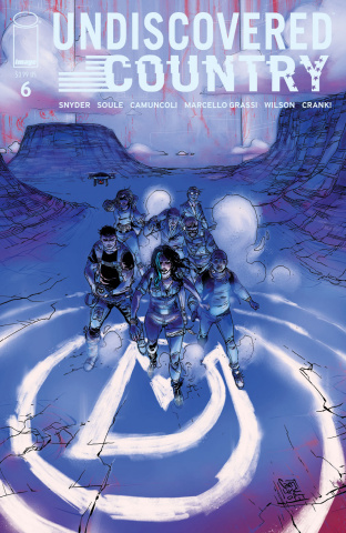 Undiscovered Country #6 (Camuncoli Cover)