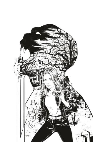Buffy the Vampire Slayer #2 (50 Copy Mok Cover)