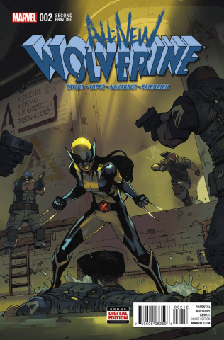 All-New Wolverine #2 (Bengal 2nd Printing)