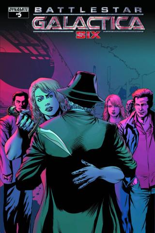Battlestar Galactica: Six #5 (Rodolfo Cover)