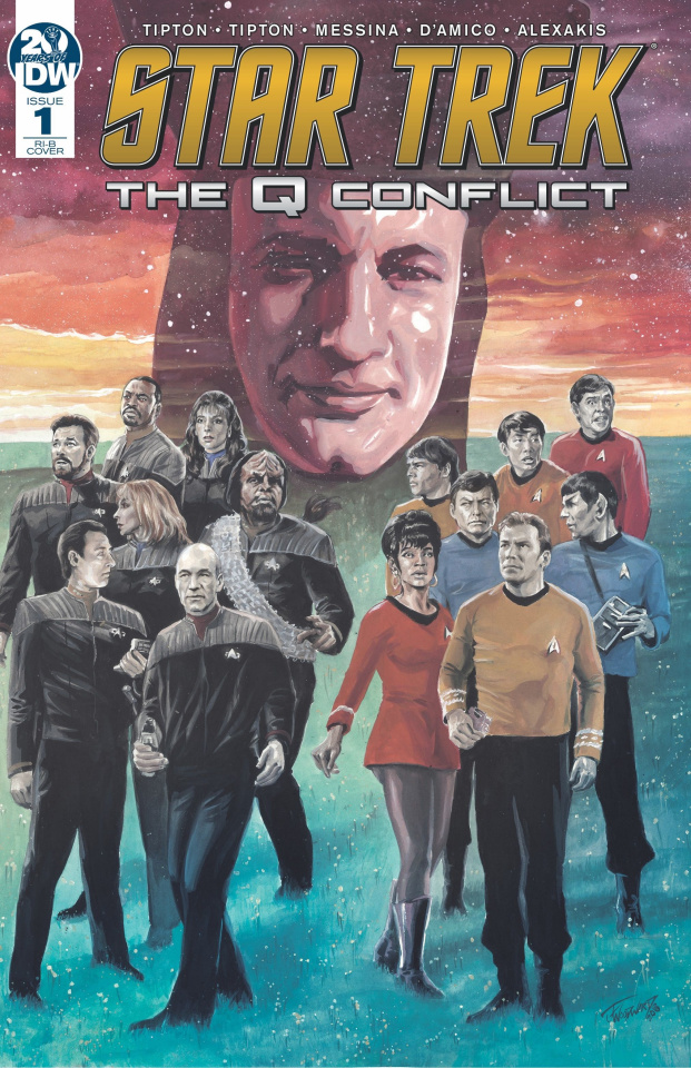 Star Trek: The Q Conflict #1 (25 Copy Woodward Cover)