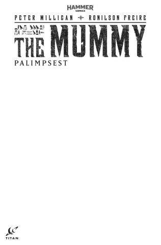The Mummy #1 (Blank Sketch Cover)