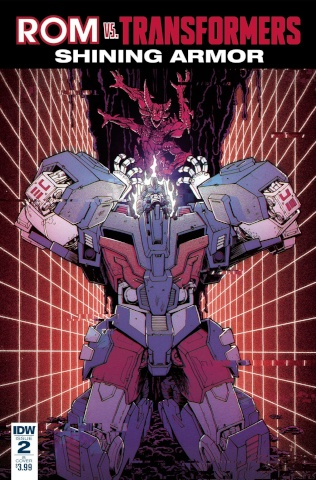 ROM vs. The Transformers: Shining Armor #2 (Roche Cover)