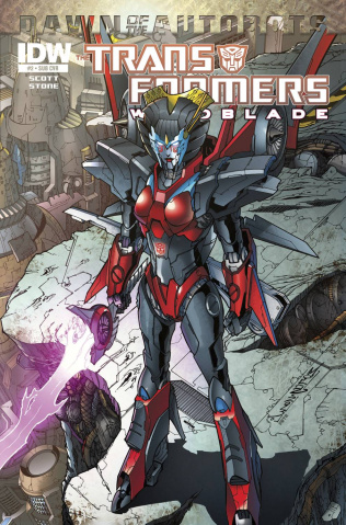 The Transformers: Windblade #2 (Subscription Cover)
