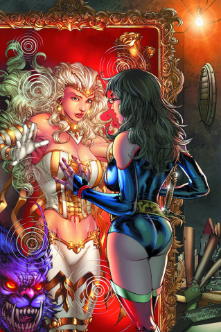 Grimm Fairy Tales vs. Wonderland #1 (Tolibao Cover)