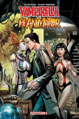 Vampirella vs. Reanimator #2 (Desjardins Cover)