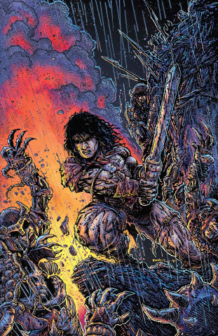 The Savage Sword of Conan #1 (Eastman Cover)