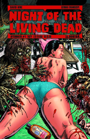 Night of the Living Dead: Aftermath #1 (Tasty Cover)