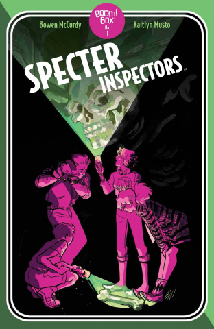Specter Inspectors #1 (Homage Cover)