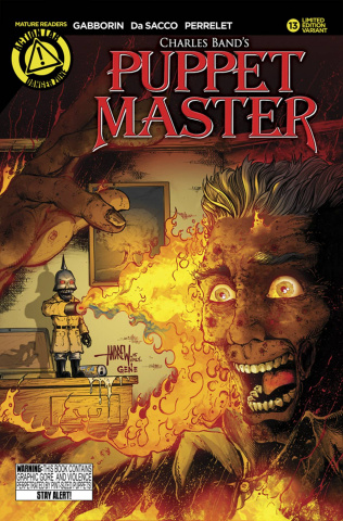 Puppet Master #13 (Kill Cover Cover)