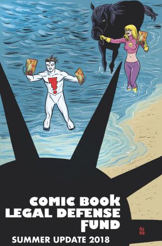Comic Book Legal Defense Fund: Summer Update 2018