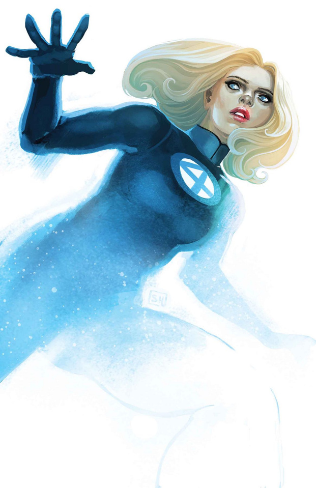 Invisible Woman #1 (Hans Cover)