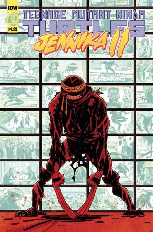 Teenage Mutant Ninja Turtles: Jennika II #3 (Revel Cover)