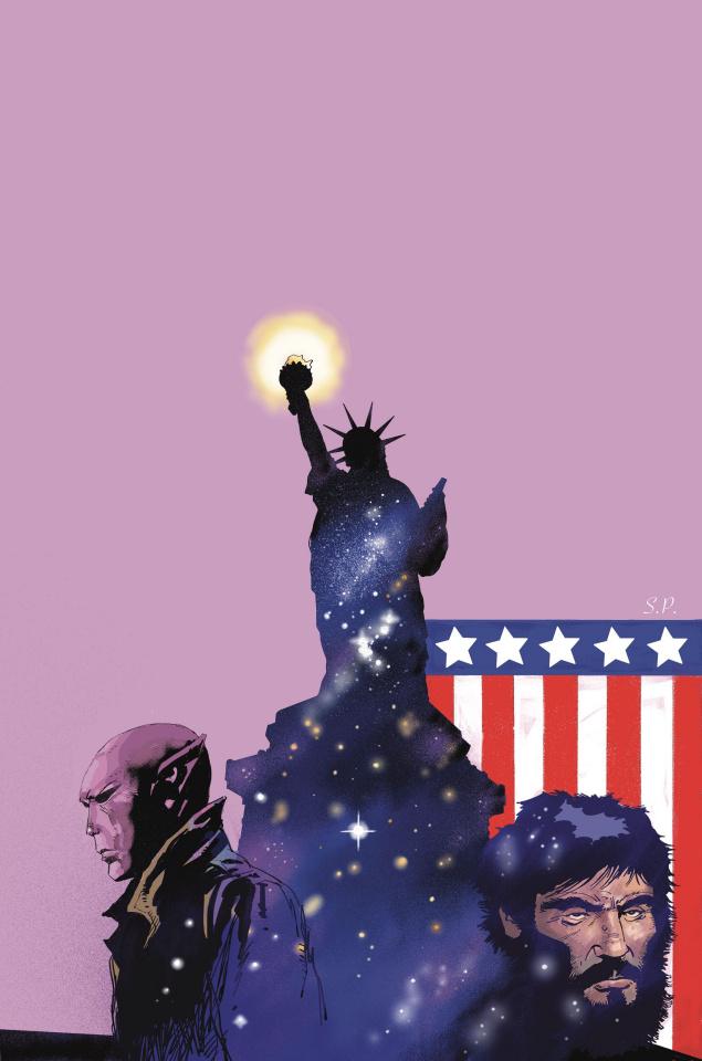 Resident Alien #4 (Alien in New York Cover)