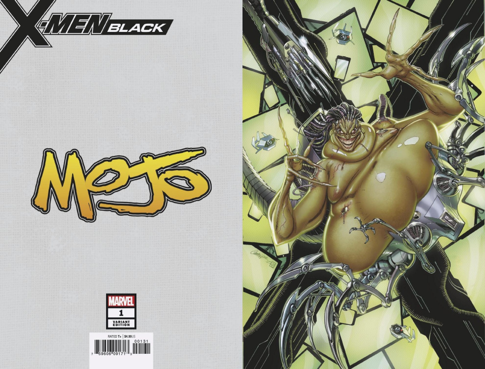 X-Men: Black - Mojo #1 (Campbell Virgin Cover)