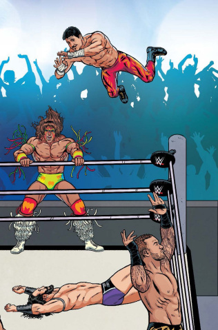 WWE #6 (Unlock Royal Rumble Schoonover Cover)