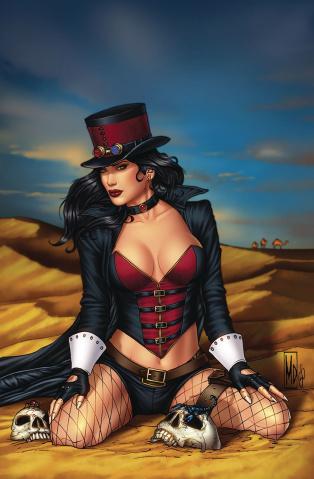 Van Helsing: The Sword of Heaven #5 (Dipascale Cover)