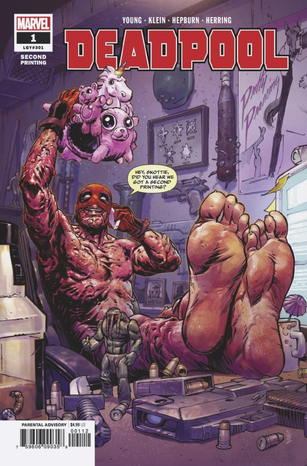 Deadpool #1 (Klein 2nd Printing)