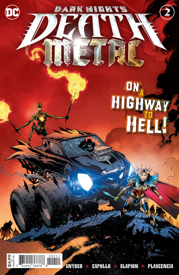 Dark Nights: Death Metal #2 (Greg Capullo Recolored 2nd Printing)