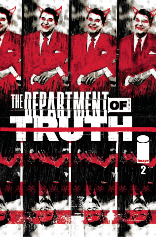 The Department of Truth #2 (Simmonds Cover)