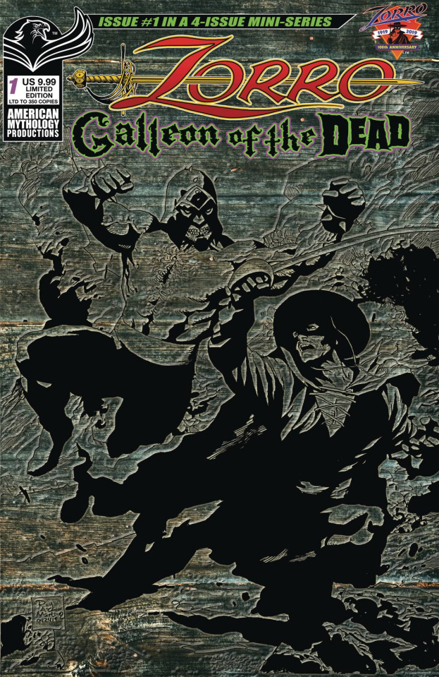 Zorro: Galleon of the Dead #1 (Pulp Cover)