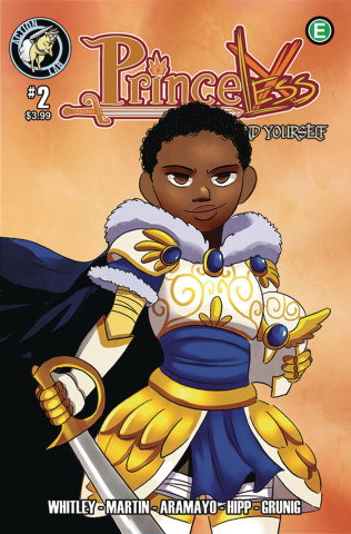 Princeless: Find Yourself #2 (Cover B)