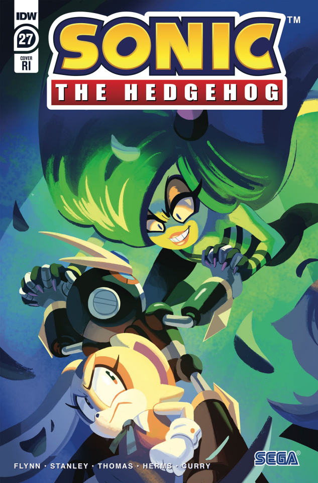 Sonic the Hedgehog #27 (10 Copy Fourdraine Cover)