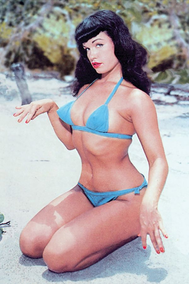 Bettie Page: Unbound #8 (10 Copy Photo Virgin Cover)
