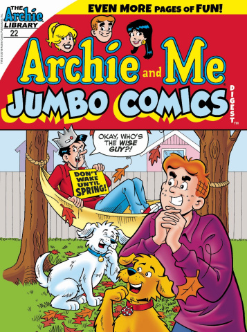 Archie and Me Jumbo Comics Digest #22