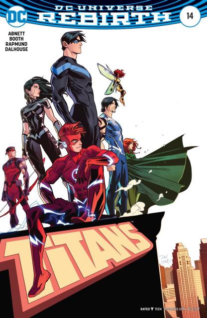 Titans #14 (Variant Cover)