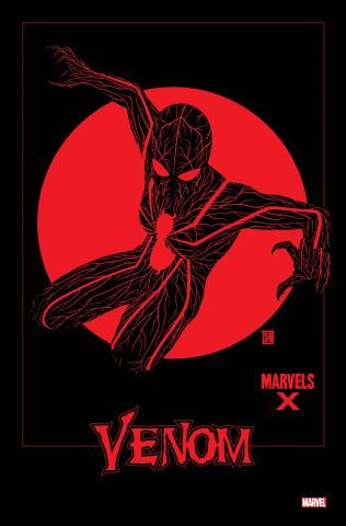 Venom #22 (Christopher Marvels X Cover)