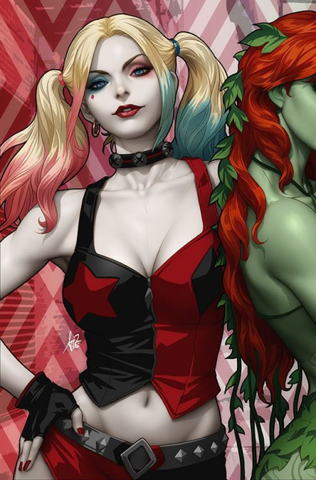 Harley Quinn & Poison Ivy #1 (Harley Card Stock Cover)