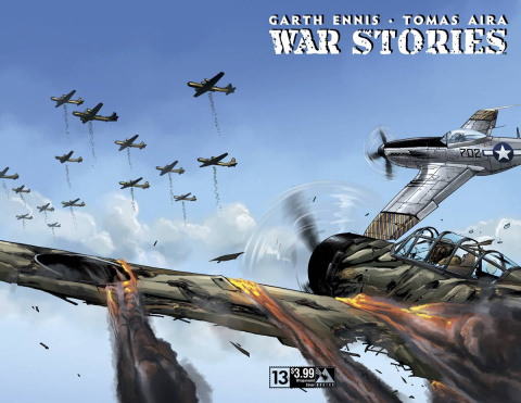 War Stories #13 (Wrap Cover)