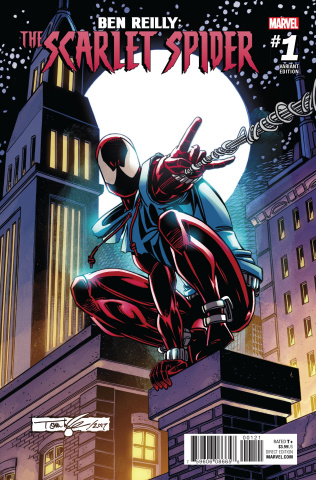 Ben Reilly: The Scarlet Spider #1 (Lyle Cover)