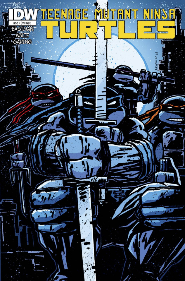 Teenage Mutant Ninja Turtles #52 (Subscription Cover)