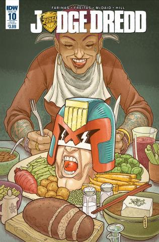 Judge Dredd #10 (Subscription Cover)