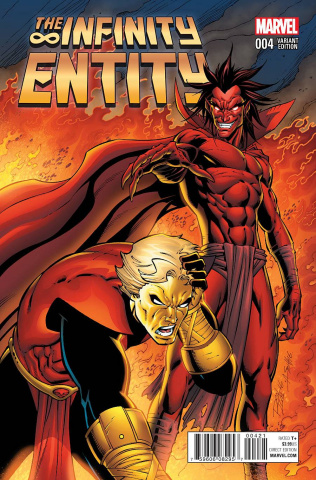 The Infinity Entity #4 (Lim Cover)