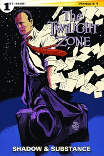 The Twilight Zone: Shadow & Substance #1 (Francavilla Cover)