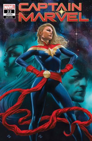 Captain Marvel #22 (Granov Cover)