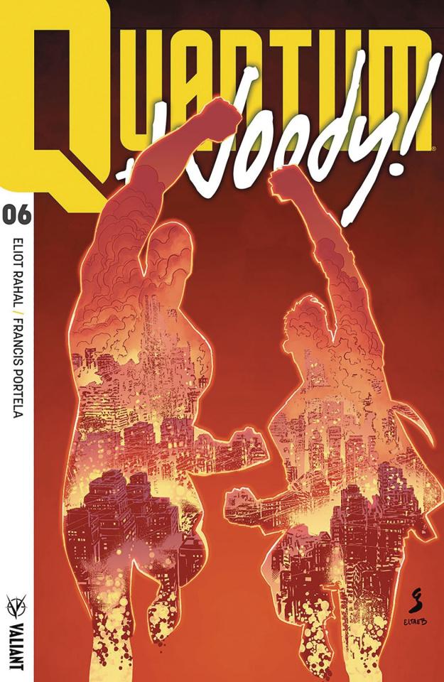 Quantum & Woody #6 (Ultra Foil Shaw Cover)