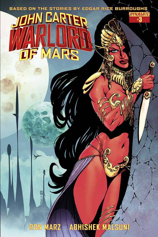 John Carter: Warlord of Mars #3 (Sears Cover)